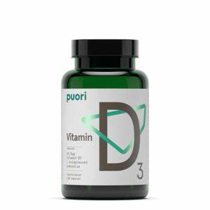 D-vitamin Puori vitamin vitaminer mineraler