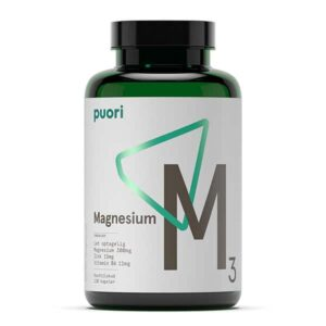 Vitaminer Mineraler M3 Magnesium Puori