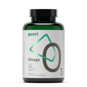 Fiskeolie Omega3 Puori O3